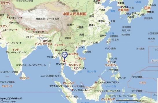 東南アジアの地図を見てビジネスを考える